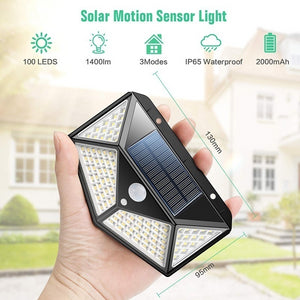 Outdoor 100 Solar LED Lights