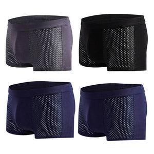 Breathable Bamboo Men Underwear - Pack of 4