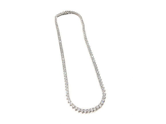 Ballard Round Necklace Silver