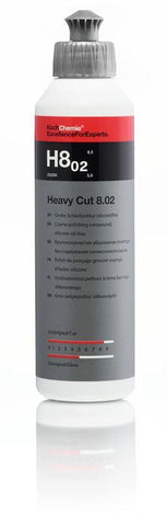Koch Chemie - H8.02 Heavy Cut - Grobe Schleifpolitur - 250ml - ADVANTUSE - Autopflegeshop
