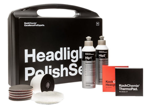 Koch Chemie - Headlight Polish Set- Scheinwerferpolitur - ADVANTUSE - Autopflegeshop