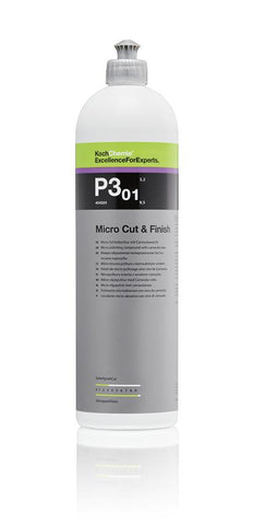 Koch Chemie - P3.01 Micro Cut & Finish - Hochglanz-Politur mit Carnauba Finish 1000ml - ADVANTUSE - Autopflegeshop
