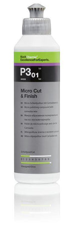 Koch Chemie - P3.01 Micro Cut & Finish - Hochglanz-Politur mit Carnauba Finish 250ml - ADVANTUSE - Autopflegeshop