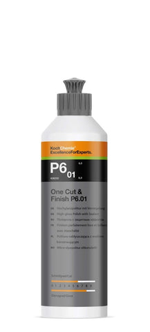 Koch Chemie - P6.01 One Cut & Finish - OneStep-Politur mit Carnauba Finish 250ml - ADVANTUSE - Autopflegeshop