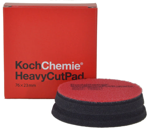 Koch Chemie - Polierpad Heavy Cut (grob 76mm x 23mm) 75mm - ADVANTUSE - Autopflegeshop