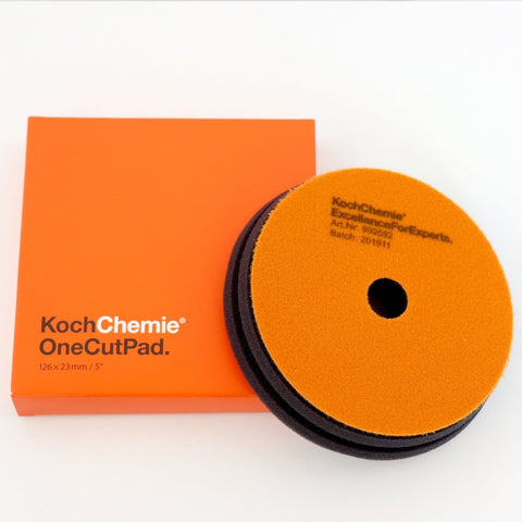 Koch Chemie - Polierpad One Cut (onestep 126mm x 23mm) 125mm - ADVANTUSE - Autopflegeshop