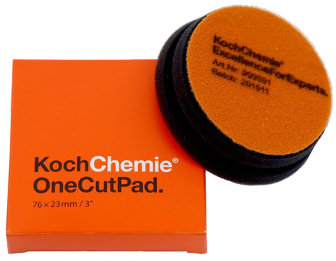 Koch Chemie - Polierpad One Cut (onestep 76mm x 23mm) 75mm - ADVANTUSE - Autopflegeshop