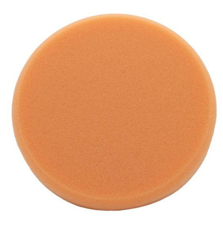 Liquid Elements - Pad Man orange - Medium Cut Pad oder Allroundpad für Onestep Polituren125mm - ADVANTUSE - Autopflegeshop