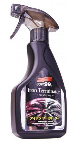 Soft 99 - Iron Terminator Flugrostentferner / Felgenreiniger ph-neutral - 500ml - ADVANTUSE - Autopflegeshop