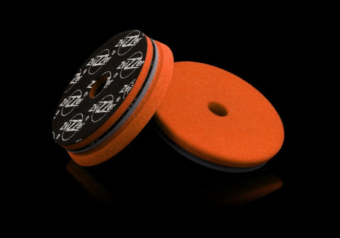 "ZviZZer - ""All-Rounder Pad,"" für Rota und Exzenter - orange 1Stk. - mittelgrob / One Step - 125mm - ADVANTUSE - Autopflegeshop"