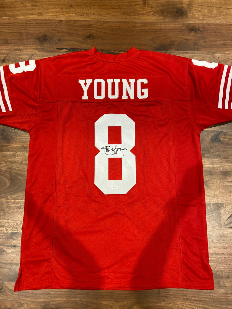 Steve Young Autographed Signed 49ers Jersey HOF AUTO