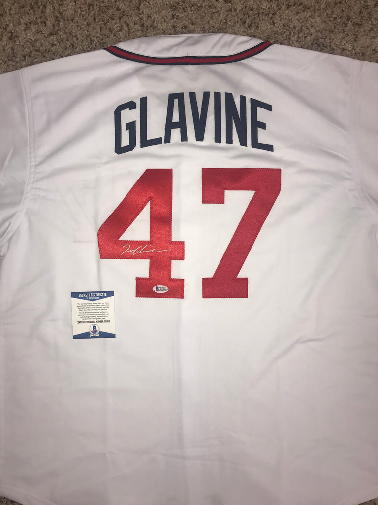 Tom Glavine Autographed Signed Braves Jersey Beckett COA AUTO