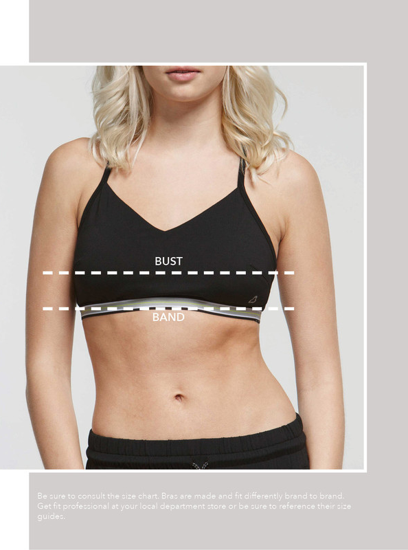"""d3b3f14e58 Subtract your band size from your bust measurement. 1"""" difference   A cup"""