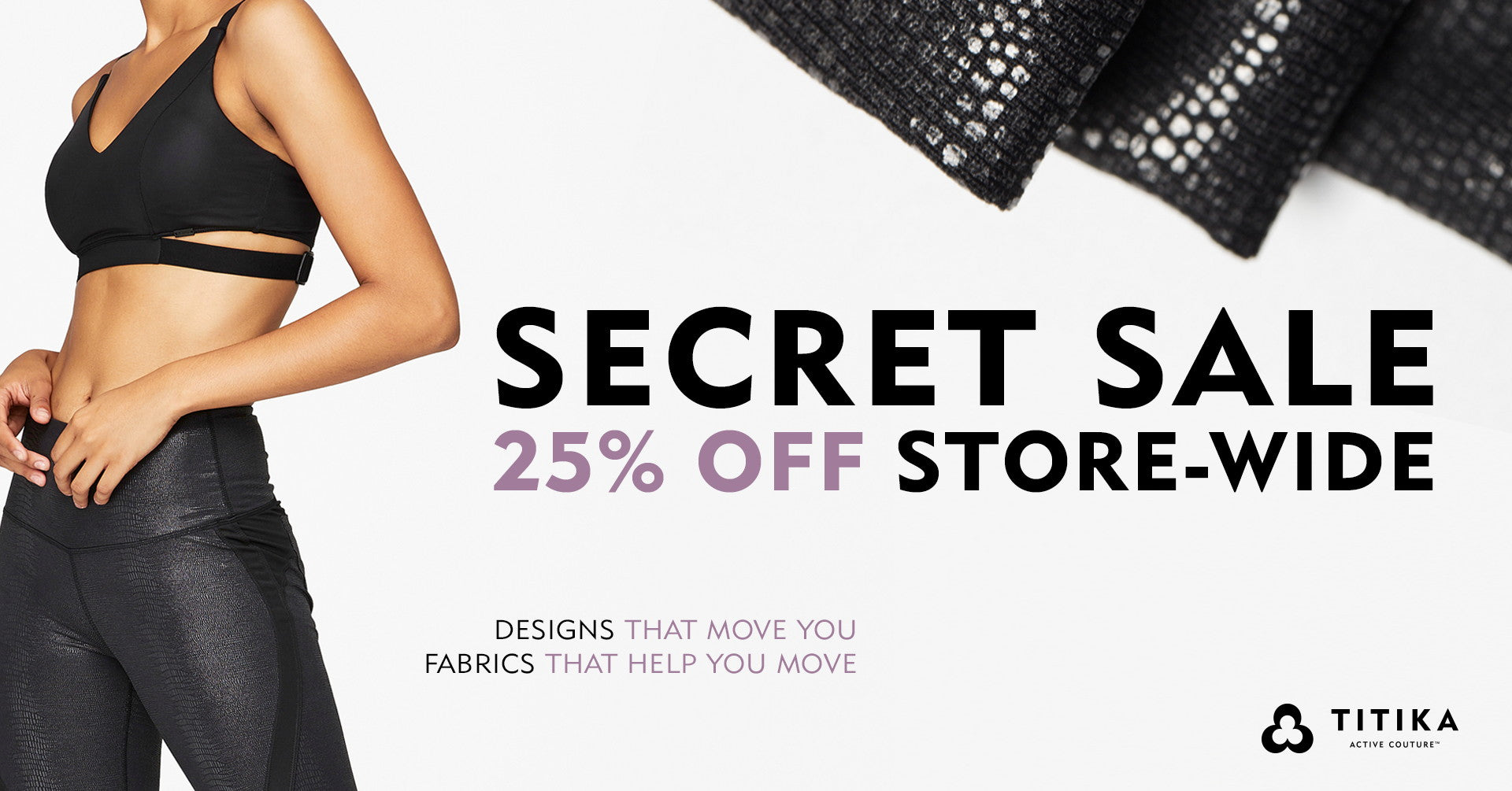 SECRET SALE - 25% OFF
