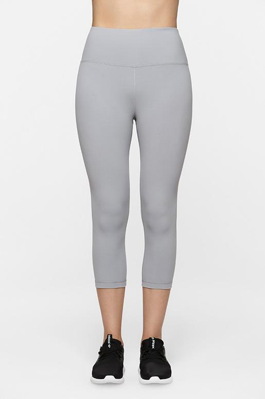 Lucky Grey Crop Leggings