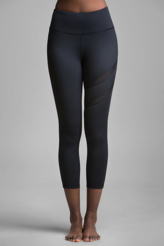 Heart II Mesh Cut-Out Leggings