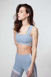 Crop Out Bra with Cutout