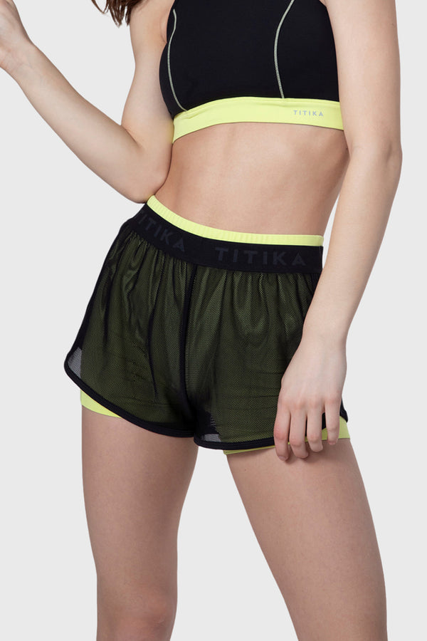 Pop Colour Fitness Shorts