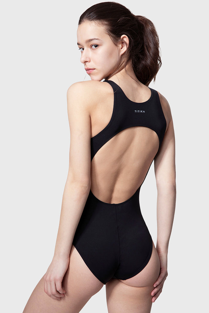 Cut Out Back Swimsuit