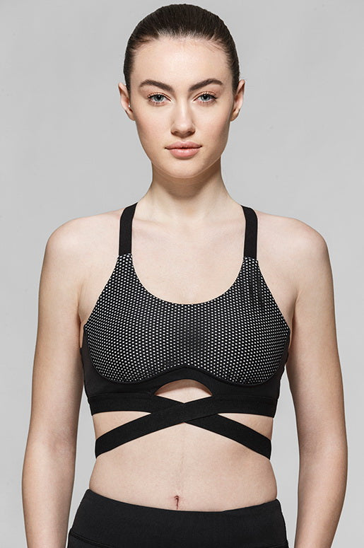 Mireya Criss Cross Light Impact Bra