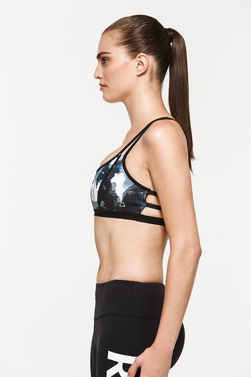 Metro Graphic Light Impact Bra
