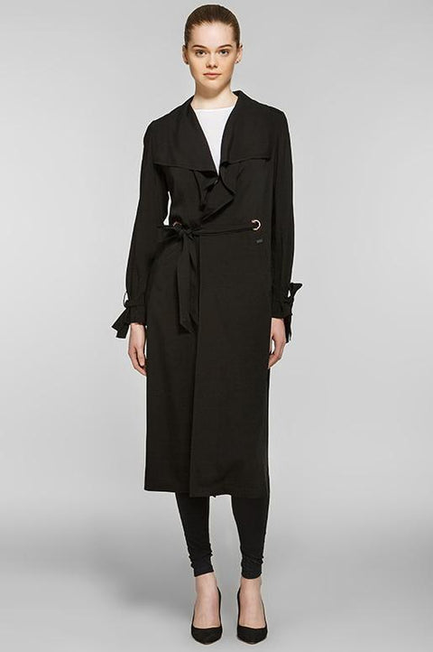 Dusty Trench Coat