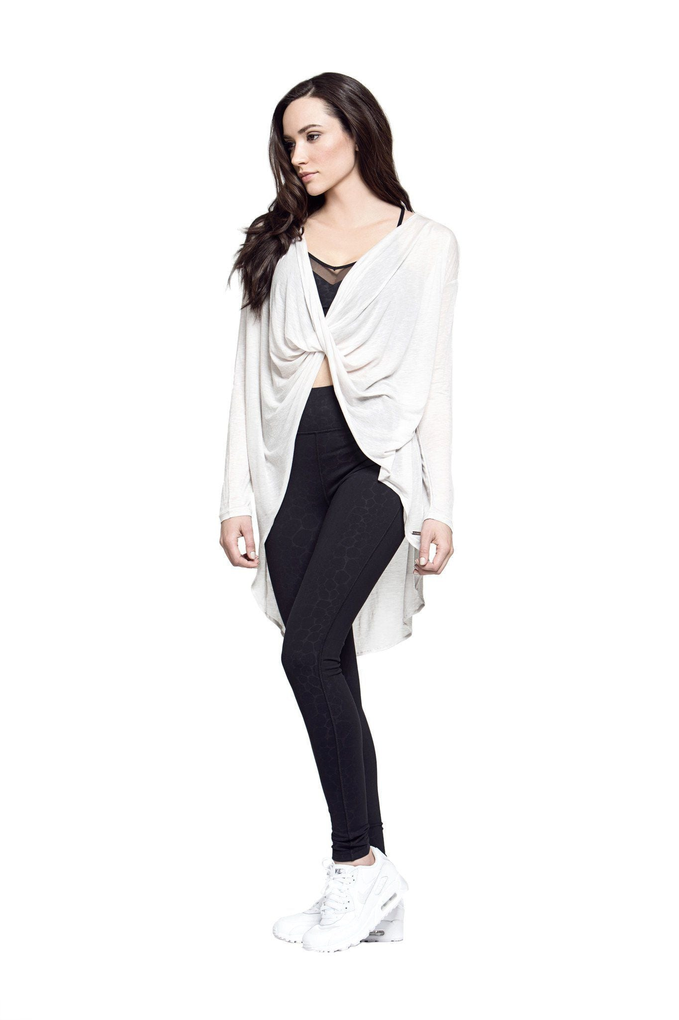 Curtis Long Sleeve Wrap Top