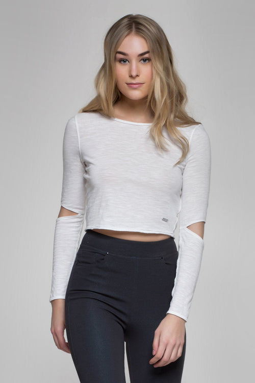 Bianca Cut-Out Crop Top