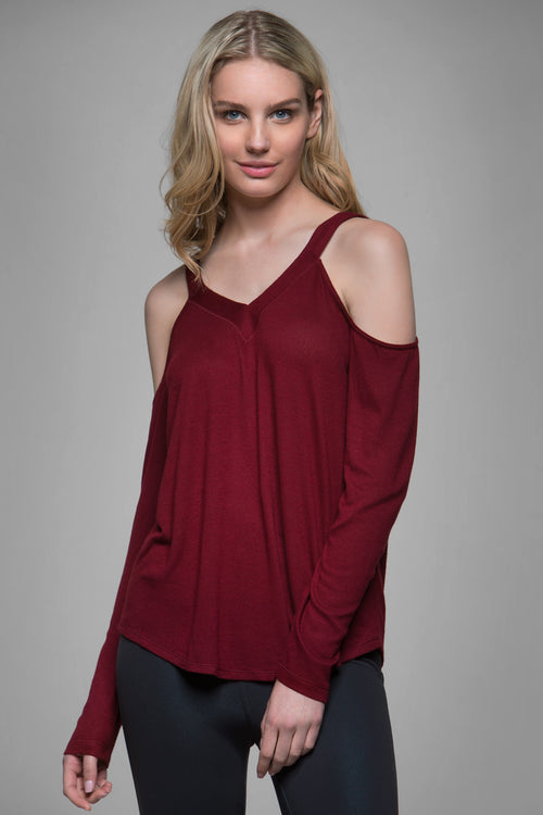 Doran Open Shoulder Sweater