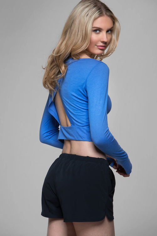 Megan Long Sleeve Crop Top