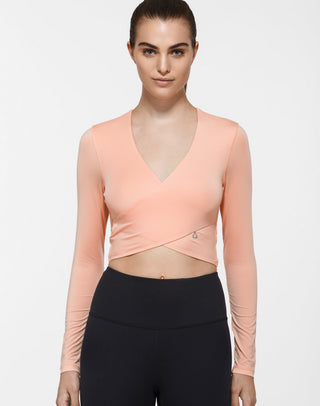Elisa Long Sleeve Crop Top