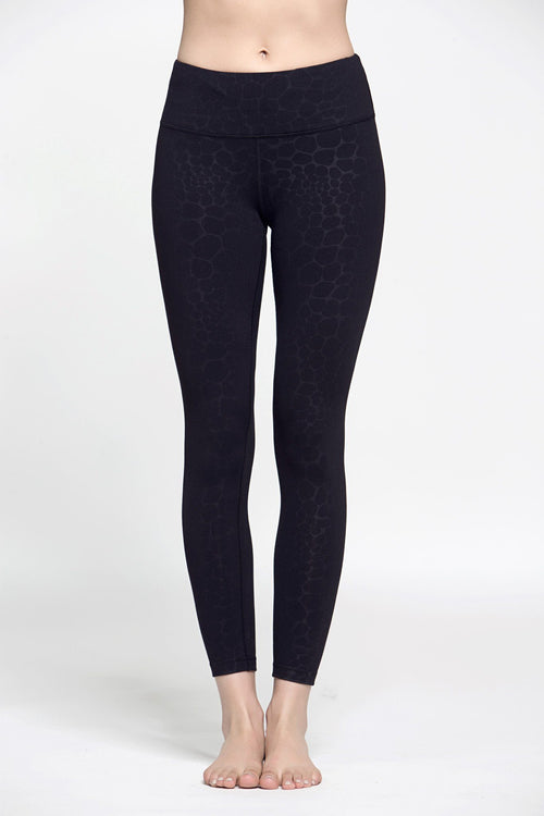 Lucky Digs Legging - Black Leopard