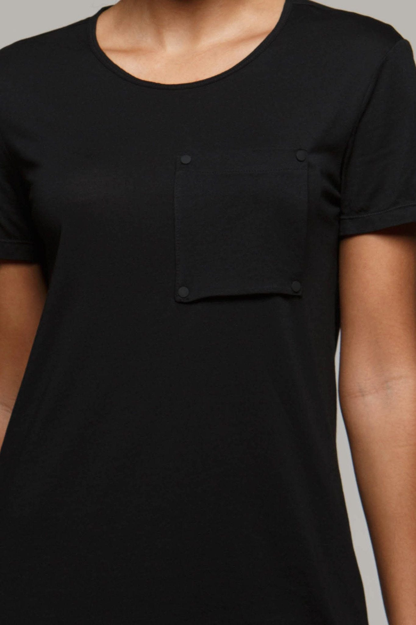 Zane Long Line Pocket Tee