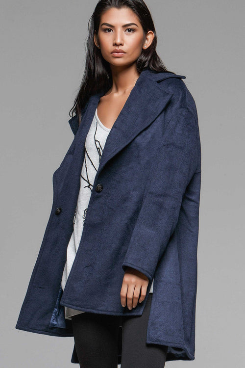 Avis Oversized Pea Coat - Final Sale