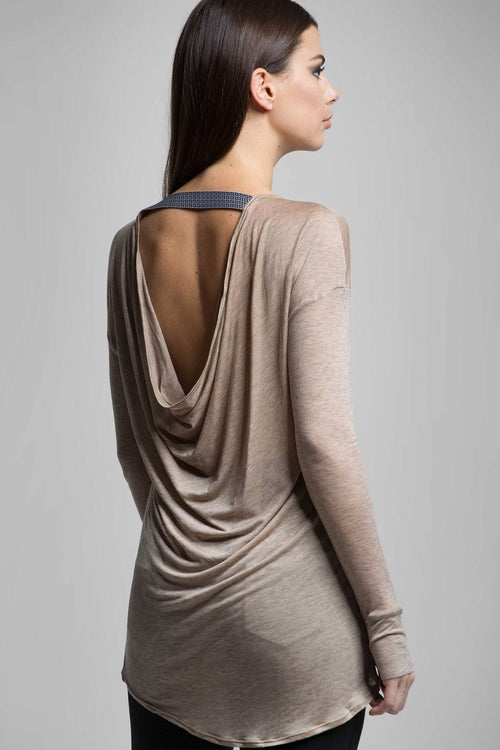Carmen Open Back Long Sleeve