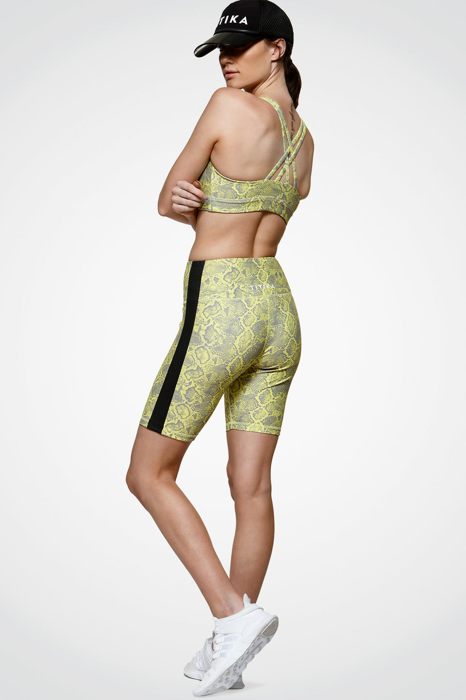 Lucky Stripe Cycle Short