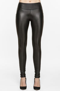 Diva Vegan Leather<br/> Fleece Legging