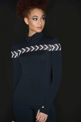 Crosline Reflective Running Top