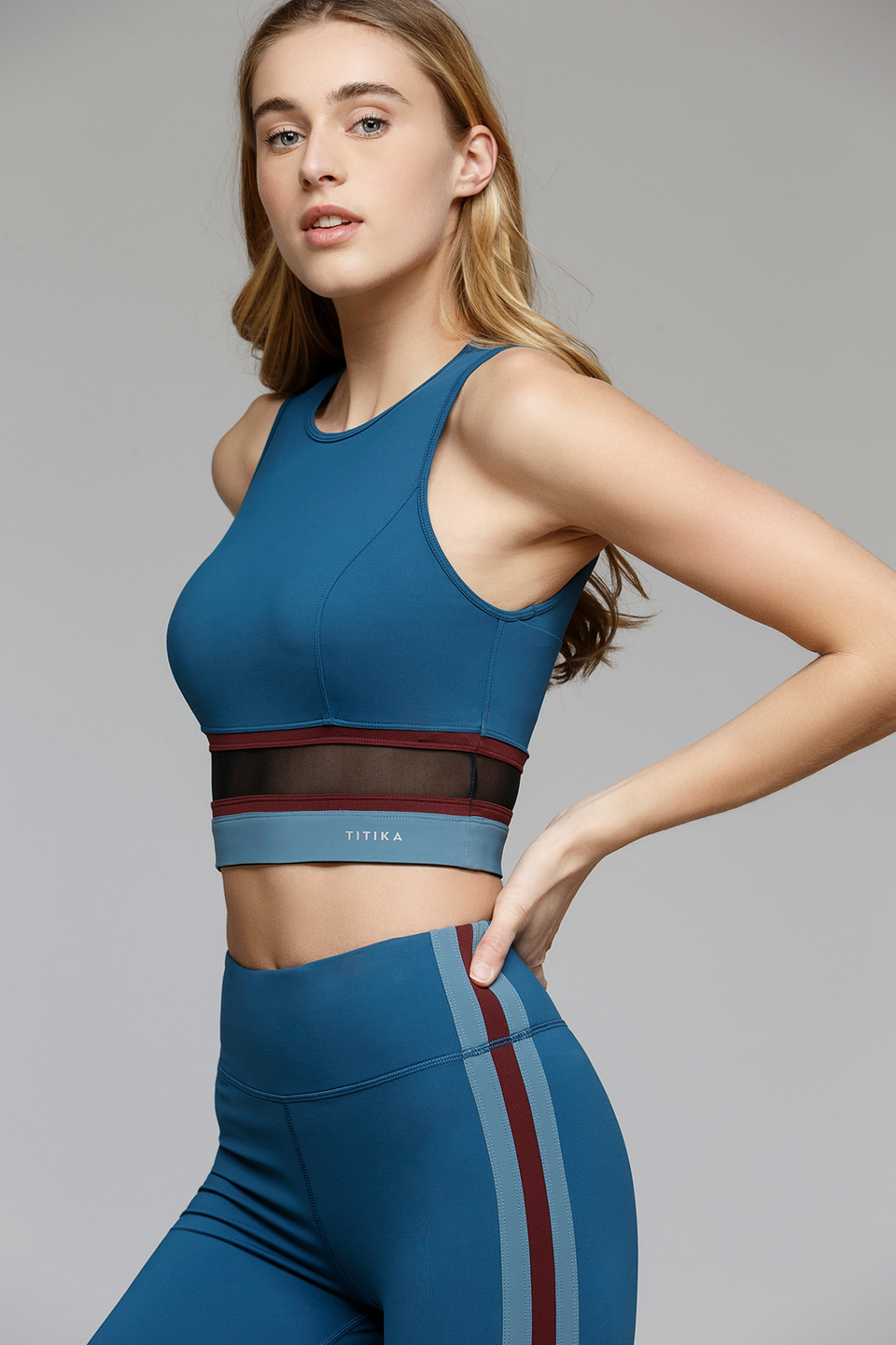 Racer Cropped Top