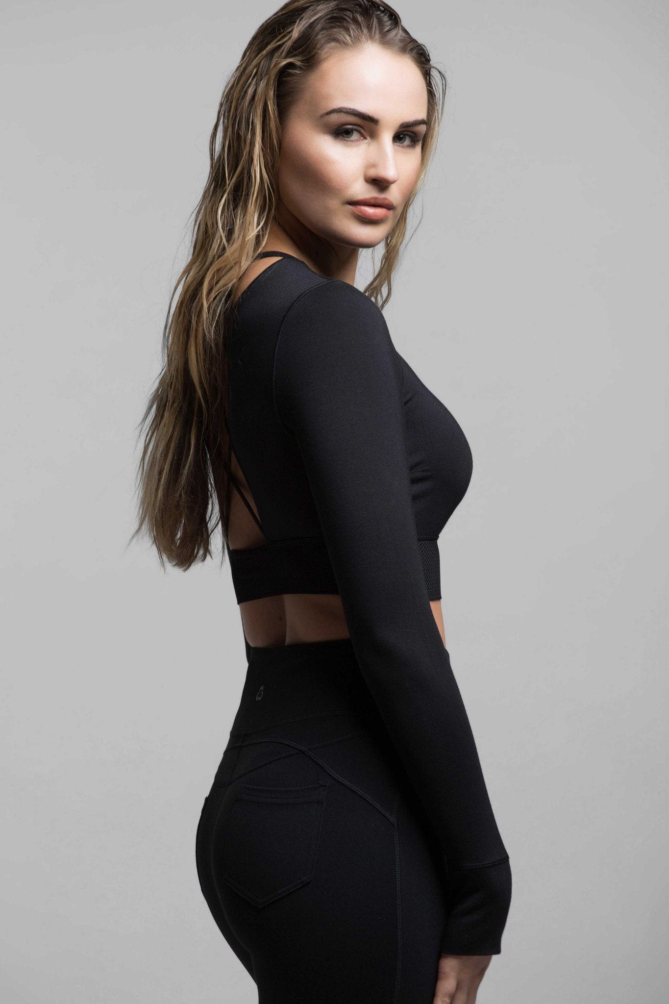 Emerson Long Sleeve Crop Top