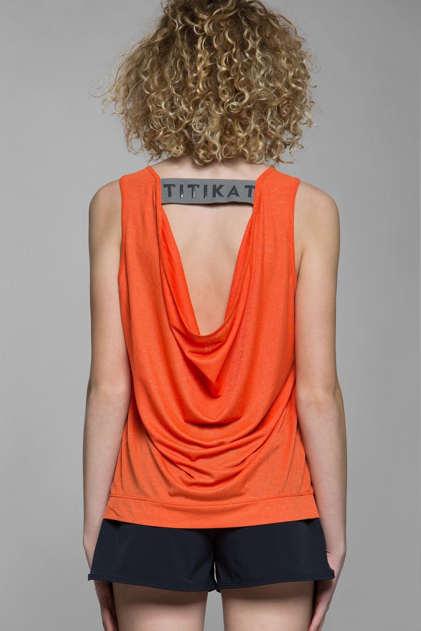 Fantasia Draped Tank