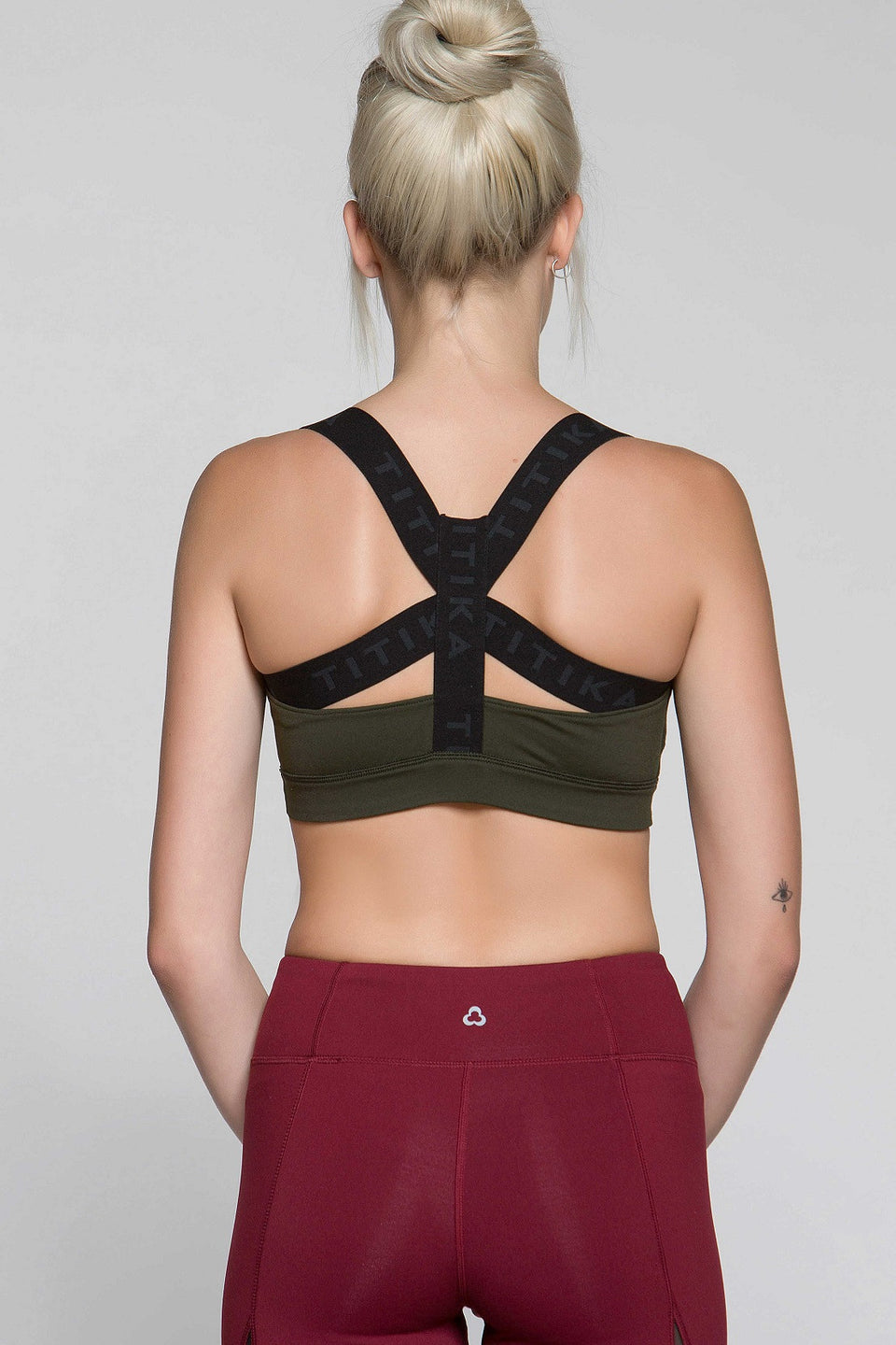 Cut-Out High Impact Bra