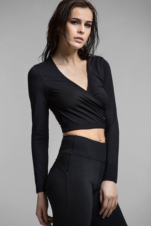 Lady D Long Sleeve Crop