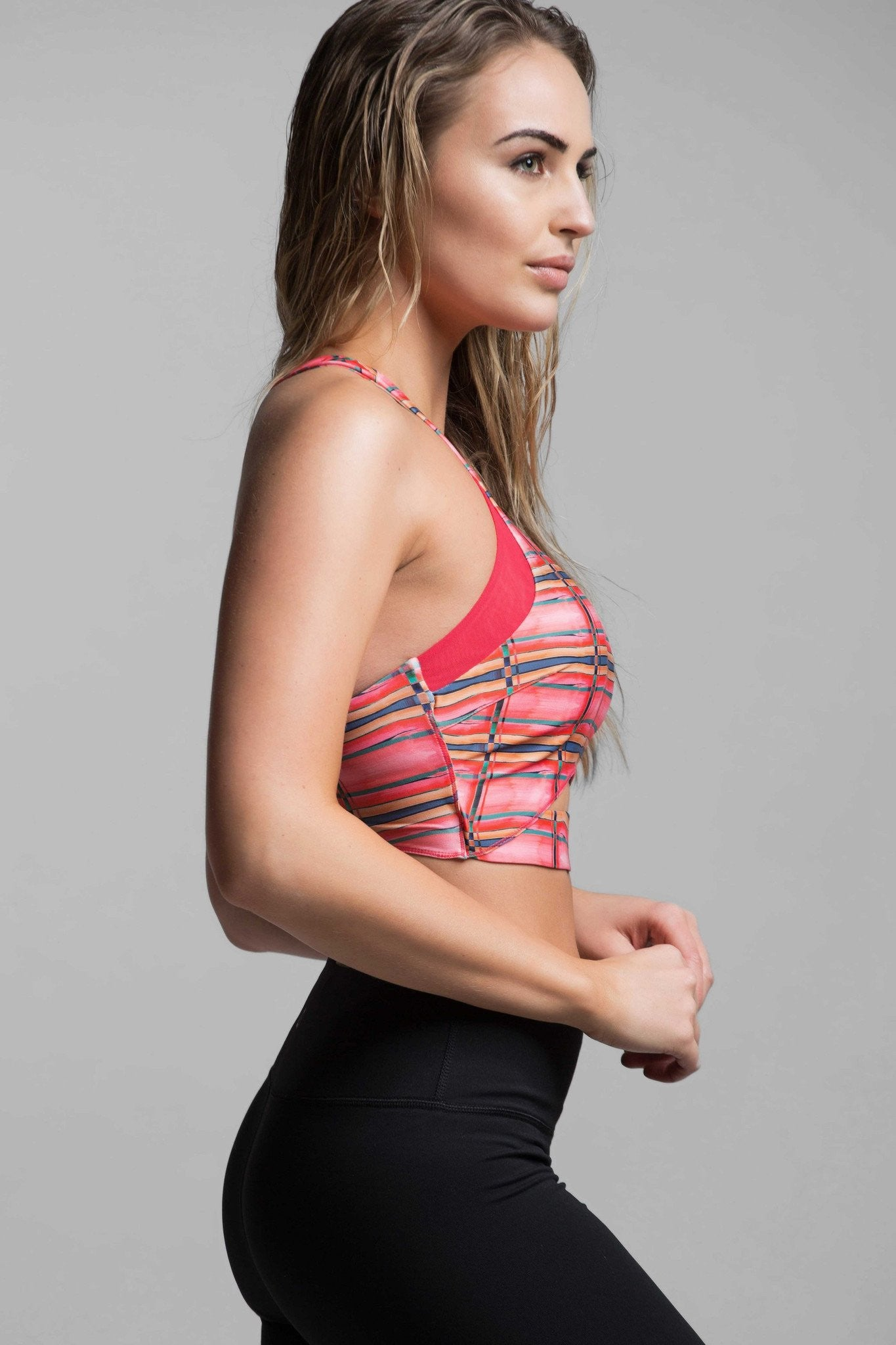 Laurel Light Impact Crop Bra