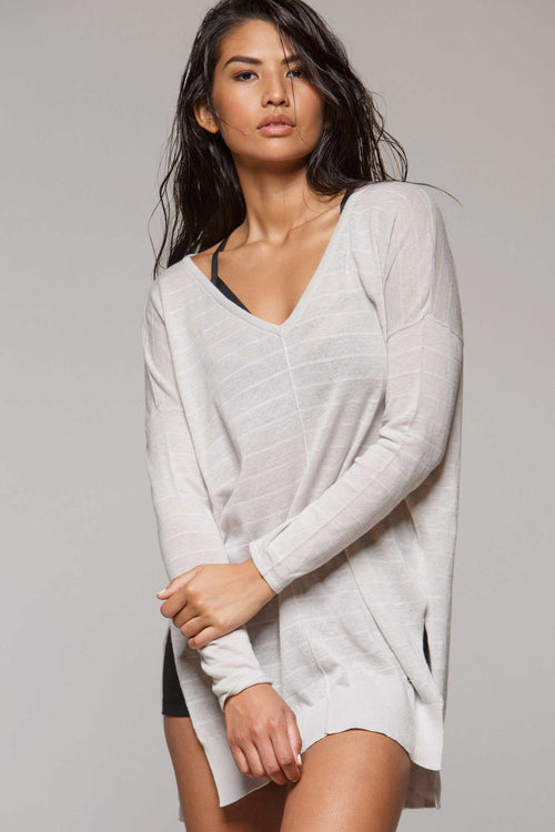 Light Deep V Sweater