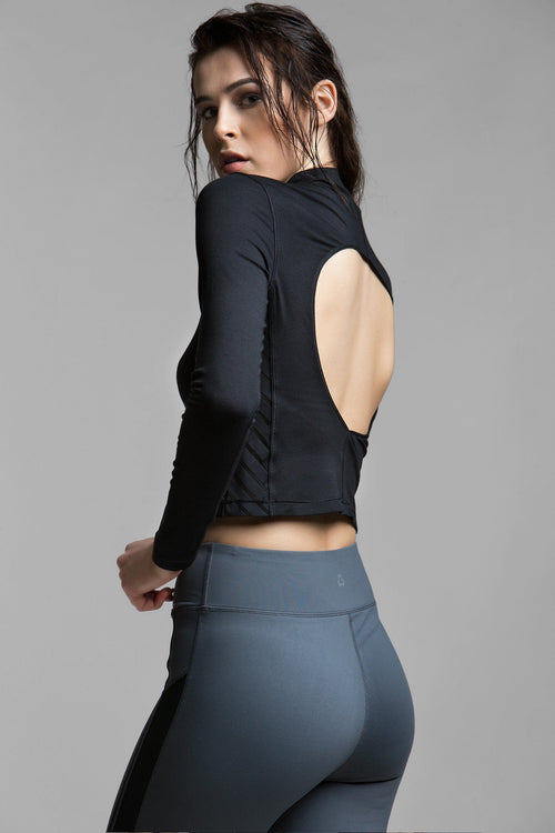 Roan Cut-Out Crop Top