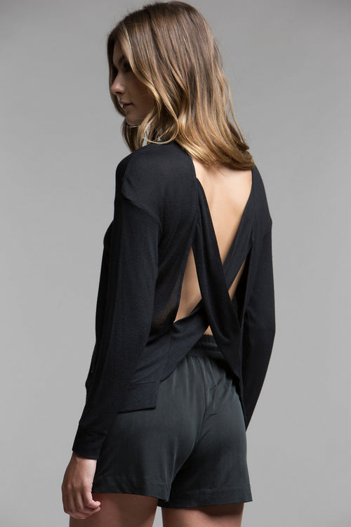 X Me Bare-Back Top