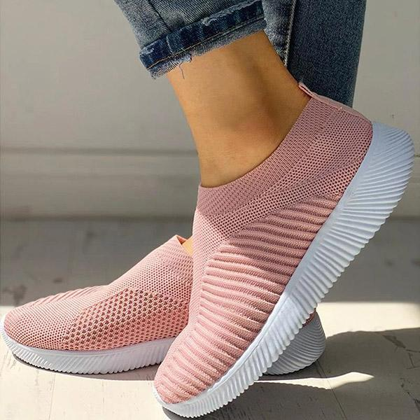 Mokoshoes Net Surface Breathable Knitting Sneakers