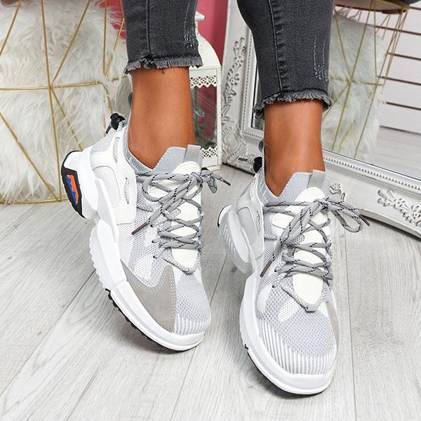 mokashoes Women's Comfortable Chunky Sneakers