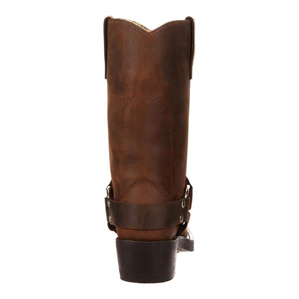 Mokashoes Women Knee High Riding Boots Low Heel